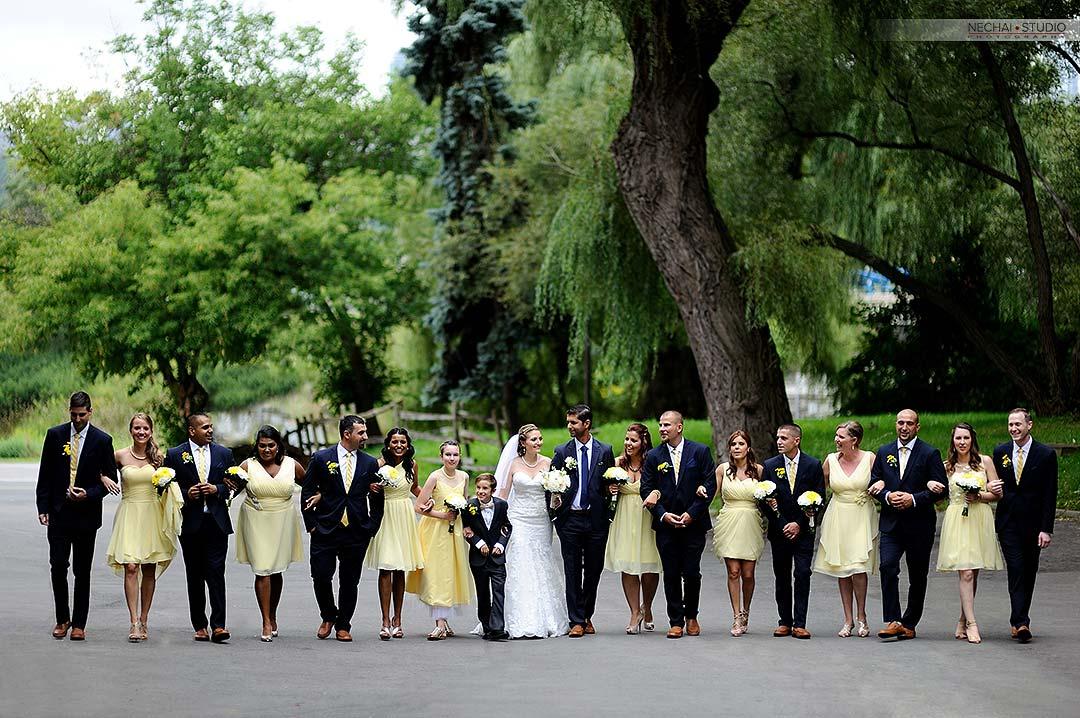 After-Big bridal party at fantasy farm retouched photos